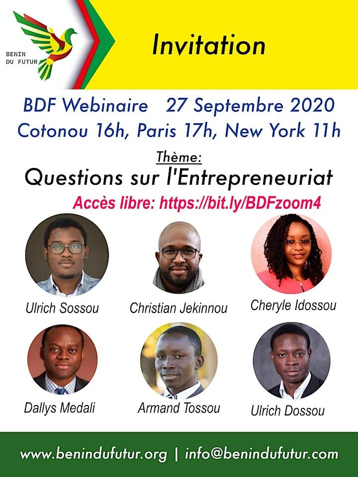 Image pour Questions sur l'Entrepreneuriat Technologique