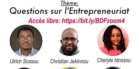 Questions sur l'Entrepreneuriat Technologique billets