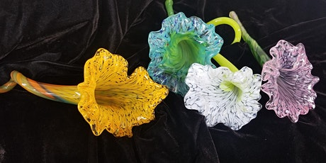Create Your Own Sculpted Glass Flower tickets