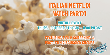 Italian Netflix Watch Party tickets