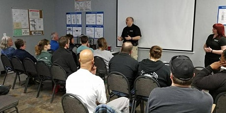 Concealed Carry Class (Self Defense Act) tickets