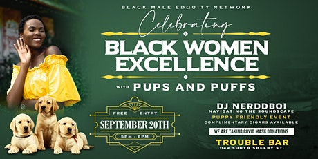 Black Women Excellence With Pups and Puffs tickets