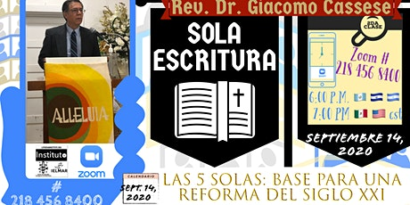 LAS 5 SOLAS + Base para un Reforma del Siglo 21 ingressos