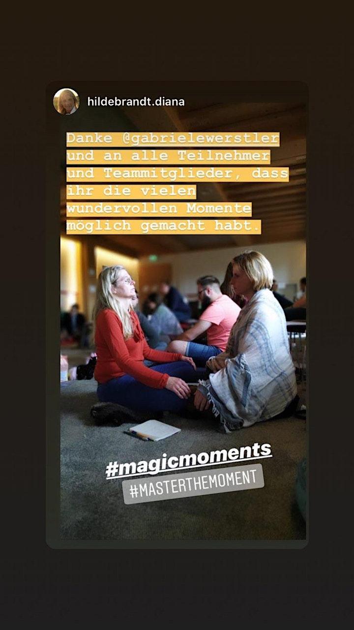 Master The Moment 1 - Ent-decke wie Du in Frieden,Freude,Fülle leben kannst: Bild