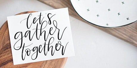 Fall Market Coffee & Calligraphy Workshop tickets