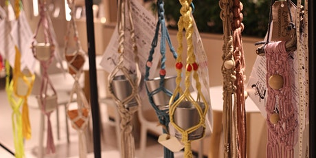 Macrame Plant Hangers at the Craft Barn tickets