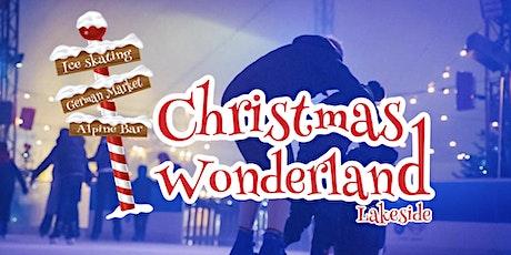 Ice Skating, Sunday 13th December at Christmas Wonderland Lakeside tickets