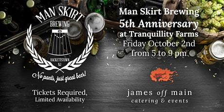 Man Skirt Brewing 5th Anniversary tickets