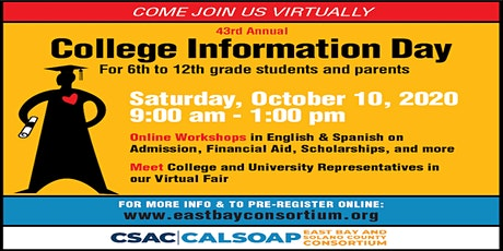43rd Annual College Information Day tickets
