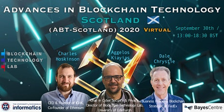 Advances in Blockchain Technology Scotland (ABT-Scotland) 2020 tickets