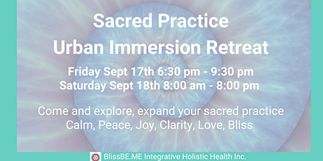Sacred Practice - Urban Immersion Retreat tickets