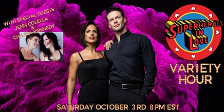 Superheroes in Love Variety Hour tickets