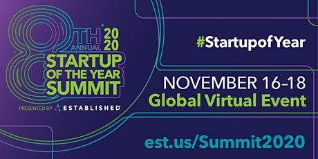 Startup of the Year Summit 2020  | Global Virtual Event tickets