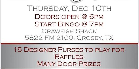 Hargrave Project Grad '21 Designer Purse Bingo tickets