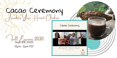 Virtual Cacao Ceremony: Spiritual Entrepreneurs tickets