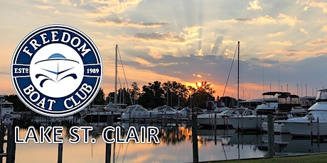 Freedom Boat Club Lake St. Clair | Open House! tickets