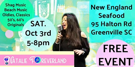 Live Music with Natalie Foreverland - Shag Dance tickets