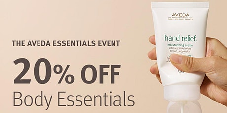 Aveda Friends & Family Event tickets