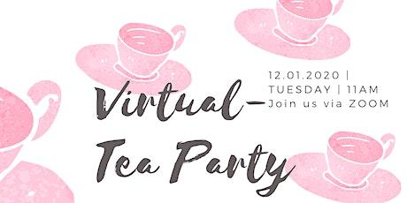 Virtual-Tea Party tickets