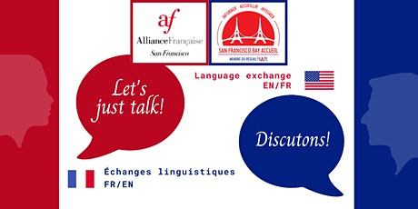 Let's talk, discutons! - Language exchange FR/EN tickets