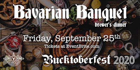 Bavarian Banquet Brewer's Dinner tickets
