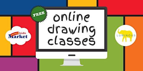 FREE Online Kids Drawing Class tickets