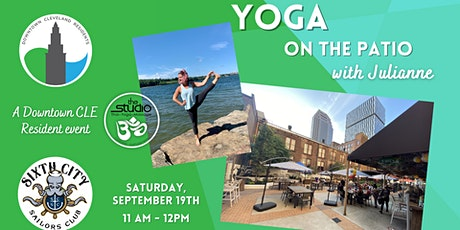 FREE Yoga on the Patio for Downtown Residents tickets