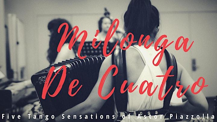 """Five Tango Sensations"" by Quartet ""Milonga De Cuatro "" image"