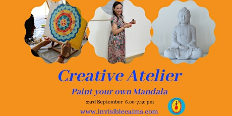 Creative Atelier: Paint your own Mandala -Online and in the studio tickets