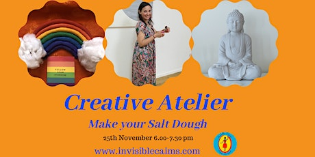 Creative Atelier: Make your Salt Dough -online and in the studio tickets