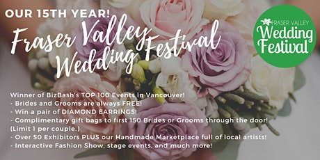 Fraser Valley Wedding Festival 2020 POSTPONED, New date TBA tickets