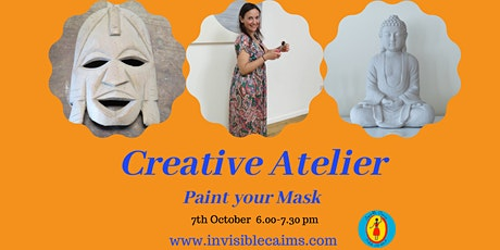 Creative Atelier: Paint your Mask-online and in the studio tickets