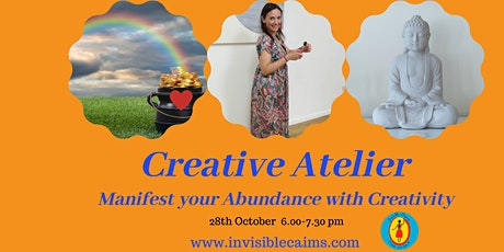 Creative Atelier: Manifest your Abundance -online and in the studio tickets