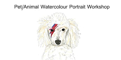 Pet Portraiture with a 'Rock Star' theme with Jennie Deane of Hiccup Art tickets