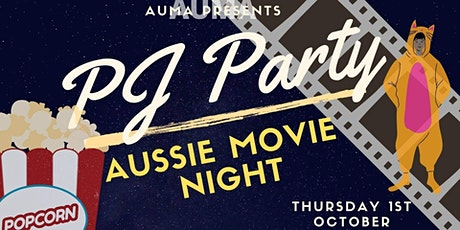 PJ Party: Aussie Movie Night tickets
