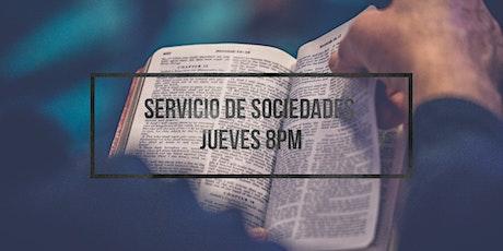Servicio de Sociedades- Jueves boletos