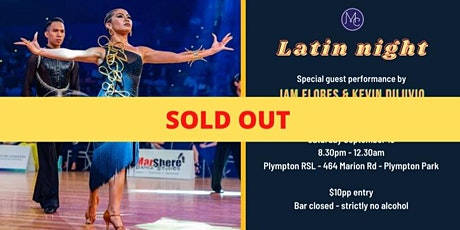 (SOLD OUT) Salsa & Latin Night with Mambo City Adelaide tickets