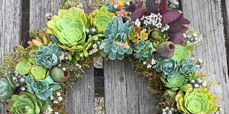 Succulent wreath workshop #2 tickets