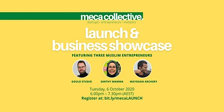 meca collective Launch + Business Showcase tickets