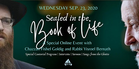 Sealed in the Book of Life | A Pre-Yom Kippur Online Event tickets