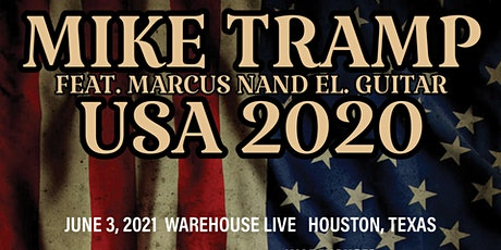MIKE TRAMP FEAT. MARCUS NAND - USA 2020 tickets