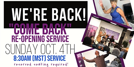 Come Back Sunday at The Message tickets