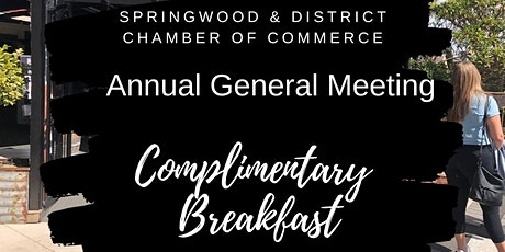 Annual General Meeting & breakfast networking event tickets