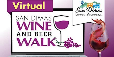 San Dimas VIRTUAL Wine and Beer Walk 2020 tickets