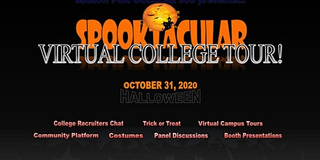 SPOOKTACULAR VIRTUAL COLLEGE TOUR tickets