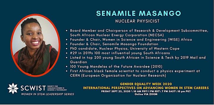 International Perspectives on Advancing Women in STEM Careers & Leadership image