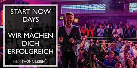 StartNow Days by Felix Thönnessen - wir machen dich erfolgreich - Mai Tickets