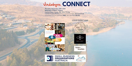 Jindabyne Connect - September 2020 - Special Guest Speaker Peter Strong tickets
