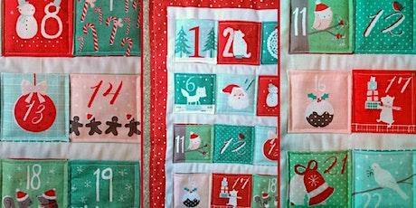 Sew an Advent Calendar tickets