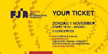 Dag 4 FJIN 2020 • GECANCELD • AM.OK • Randal Corsen & NRJO tickets